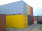 A picture of used containers refreshed by paint